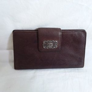 Fossil brown Leather Clutch Wallet